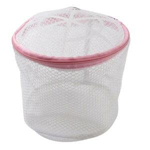 ソウテン 洗濯用ネット プラスチックフレームランジェリーブラ網細工のランドリーバスケットホワイト