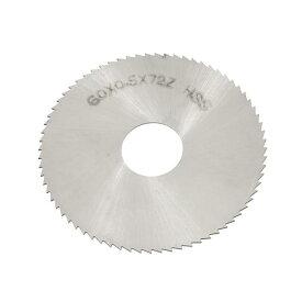 ソウテン uxcell チップソー 丸ノコ 切削直径60mm 厚さ0.5mm 72T 鋸ブレード フライス