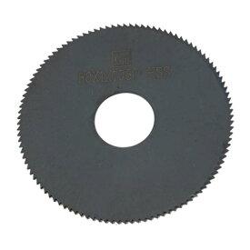 ソウテン uxcell 丸ノコ用チップソー スリットソー HSS 108T ブラック 円形 1個