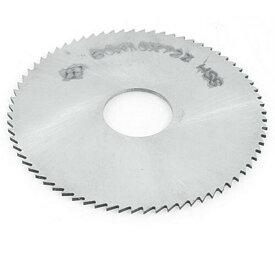 ソウテン uxcell チップソー 丸のこアクセサリー 切断作業 1mm厚さ 72T HSS材料 軽量型 シルバー