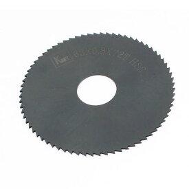 ソウテン uxcell チップソー 6.3cm x 0.8cm x 1.6cm 72 歯 HSS 切削工具の刃 スリットソー