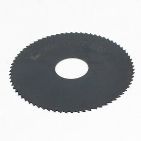 ソウテン uxcell チップソー スリットソー 60mm x 0.4mm x 16mm 72 歯 HSS素材 ブラック