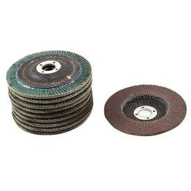 uxcell 研磨材 ポリシャー サンダーディスク 研削砥石 研磨 金属用 240# 10個セット