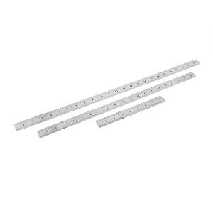 ソウテン 直定規 直線定規 ルーラー 直尺 金属製 長さ違う3枚セット 20cm 50cm 60cm