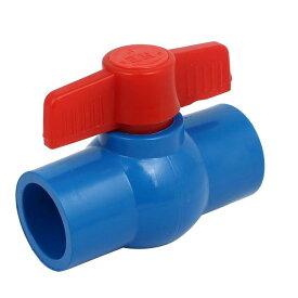 ソウテン ボールバルブ パイプコネクタ フロー制御 プラスチック材料 ストレートタイプ 1個入り