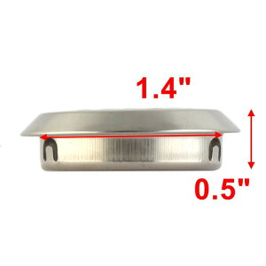 uxcell送料無料排水口ゴミ受けシンクストレーナステンレス鋼キッチンバスルームシンクトレーナー53mmx8mm