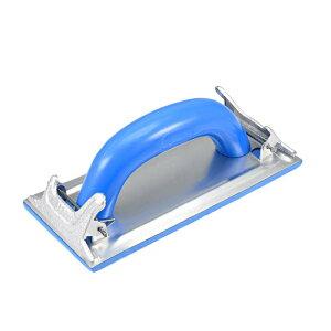 ソウテン サンドペーパーホルダー サンダーブロック ディスクホルダー ハンドツール プラスチックハンドル 18x8.5cm