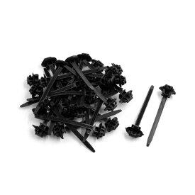 ソウテン uxcell ケーブルタイ ブラック プラスチック製 ナイロン製 ジップファスナー ワイヤ ラップ ストラップ 70mm x 5mm 30個入り