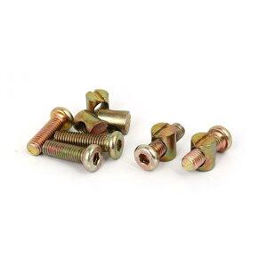 ソウテン 金属材質 ボルトワットナット ベッドベビーベッド用 ブロンズトーン 5セット入