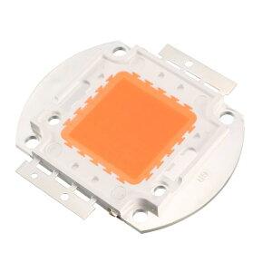 ソウテン LEDチップ 50Wフルスペクトル植物グローライト DC30-34V 1700mA 380-840nm ピンクライト DIY屋内花成長ランプ用