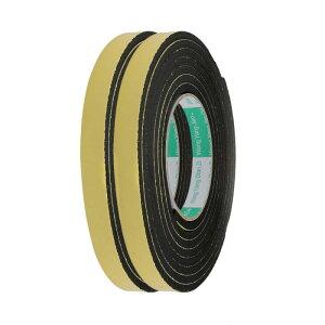 ソウテン スポンジテープ シングルサイドシール付き耐衝撃 EVA 15mm x 5mm 長さ 3M イエロー 2個入り