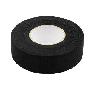 ソウテン 配線用ハーネステープ ブラック ユニバーサル 粘着布 ファブリック カー ワイヤー ハーネス 織機 テープ 25mm x 15m