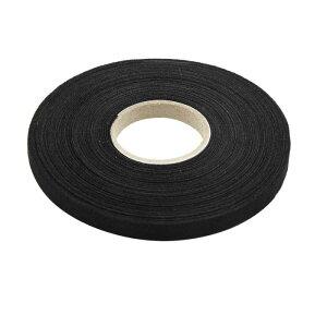 ソウテン 配線用ハーネステープ ブラック ユニバーサル 粘着布 ファブリック カー ワイヤー ハーネス 織機 テープ 9mm x 25m