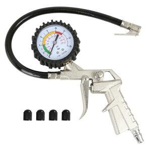 ソウテン 気圧計 カータイヤインフレータ ユニバーサル220 PSIオートモーティブ シルバートーン