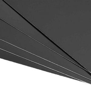 ソウテンブランクメタル名刺ビジネス名刺名刺用紙100x50x0.3mm塗装アルミ板DIY印刷彫刻用ブラック50個
