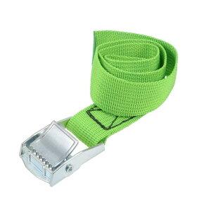 ソウテン ラッシングストラップ 荷物固定ロープ 荷締めベルト 荷締バンド 落下防止 貨物輸送 カーゴタイ ダウンストラップ 551Lbs 0.5m長さ グリーン