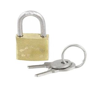 ソウテン セキュリティ南京錠 ラゲージ用 グリーン 20mm キー二つ付け 金属製 盗難防止 安全性高い