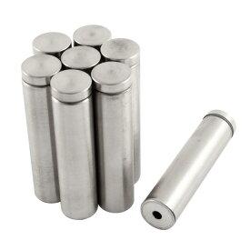 ソウテン 飾りビス 広告釘 ネジ ガラススタンドオフ ピン ホルダー 19mmx80mm 8個入り