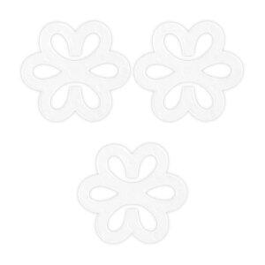 ソウテン ブラ クリップ ブラストッパー ひも ズレ 防ぐ ブラストラップクリッパー 花の形 クリア