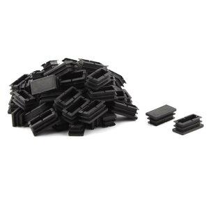 ソウテン パイプキャップ テーブル 椅子 脚 足 プラスチック製 長方形 キャップ カバー 40 x 20mm 60個入り