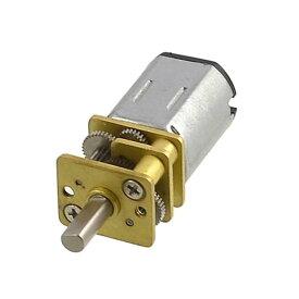 ソウテン M20 12V 0.06A 80RPM 5Kg.cmエレクトリックスピード DCギヤードモータ