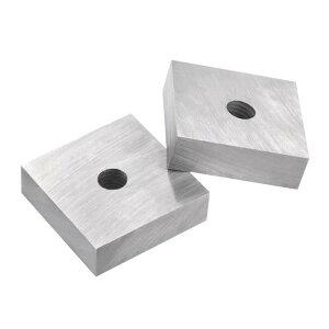 ソウテン ジョーブレード 置換用 鉄筋カッター用 高炭素鋼 50x50x15 mm 1ペア