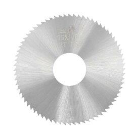 ソウテン uxcell HSSソーブレード カッター チップソー 72歯 75x22x1 mm ウッドメタル切断 20日発送予定