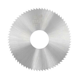 ソウテン uxcell HSSソーブレード カッター チップソー 72歯 75x22x2.5 mm ウッドメタル切断 20日発送予定