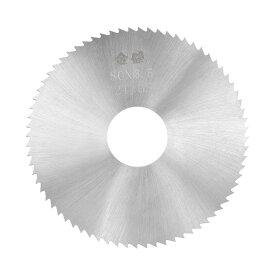 ソウテン uxcell HSSソーブレード ウッドメタル切断カッター チップソー 72歯 80x22x3.5 mm 20日発送予定