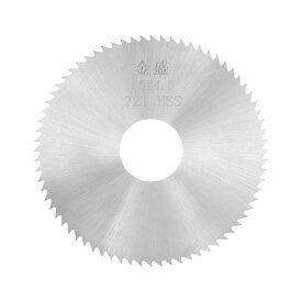ソウテン uxcell ウッドメタル切断カッター HSSソーブレード スリッティングソー 72歯 60x16x4.5 mm 20日発送予定