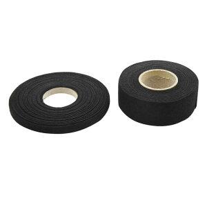 ソウテン 配線用ハーネステープ ブラック 粘着布 ファブリック 自動車 ワイヤー ハーネス 織機 テープ 2イン1