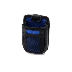 ソウテン 車用携帯ホルダー 収納バッグ プラスチック製フック付き 換気口マウント 掛けられるタイプ ブルー