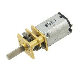 ソウテン DCギヤードモータ シャフトミニDC DIYおもちゃ用 ギアボックス260RPM 12GA 3V 3mm