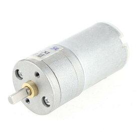 ソウテン DCギヤードモータ DC 12V 1500RPM 金属材質 4mmシャフト径