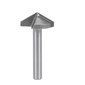 ソウテン V-グルーヴルータービット ルーター ビット 6mm シャンク 22mm 直径 120 度 V-グルーヴ エンド ミル タングステン鋼 CNC
