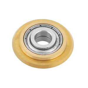 ソウテン タイルカッターホイール タングステンカーバイド製真鍮トーン リプレイスメント 磁器カッター 22x6x6mm