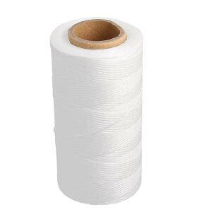 ソウテン スパン糸 ミシン糸 縫い糸 裁縫用 DIY用 手工芸用 いと ひも ストリング 巻 ポリエステル材質 ホワイト
