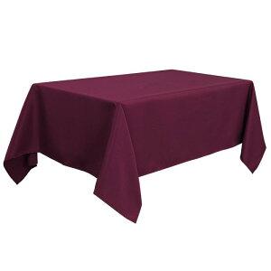 ソウテン PiccoCasa 長方形 テーブルロス 汚れに強い しわになりにくい 結婚式 ピクニック用 ダイニングテーブルカバー 屋内 屋外 ワイン 150*265cm