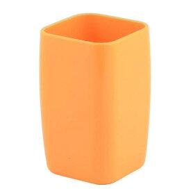 ソウテン uxcell 歯磨きコップ ガーグルカップ プラスチック オレンジ グレートヘルパー ピンク オレンジ グリーン 1個入り 15日発送予定