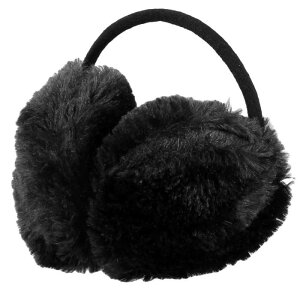 ソウテン uxcell イヤーマフ イヤーウォーマー 耳カバー 耳当て イヤパッド 子供用 冬用 ぬいぐるみ ブラック 金属フレーム