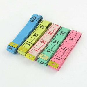 ソウテン ソフトテープメジャー テーラーメジャー 縫製テーラー定規 150cm プラスチック 金属 多彩なカラー