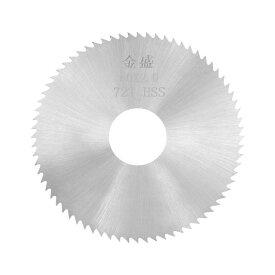 ソウテン uxcell HSSソーブレード ウッドメタル切断カッター スリッティングソー 72歯 60x16x2 mm 20日発送予定