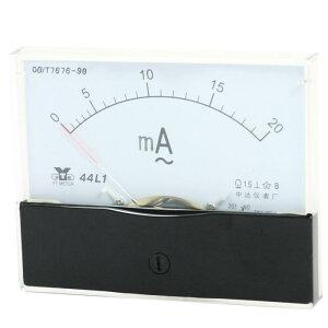 ソウテン アナログパネル電流計 アナログ電流計 測定ツール AC 0?20ミリ アンペアの範囲 44L1測定
