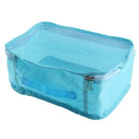 ソウテン uxcell トラベルポーチ 収納ポーチ 旅行 折りたためる 整理用 パッケージ パウチ メッシュバッグ