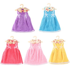 ソウテン ハンドタオル キッチン壁付け 花プリント 襟ドレス形 ウォッシュクローズ