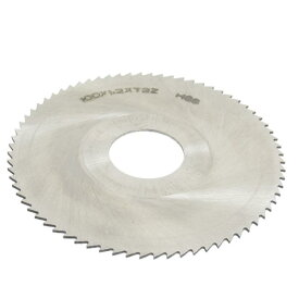 ソウテン uxcell チップソー 丸ノコ HSSグレー 27mmアーバー穴径 1.2mm 厚さ 72歯 円形 フライス