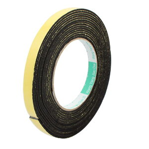 ソウテン スポンジテープ スポンジフォームテープ 耐衝撃性 片面シール 12mmの幅さ 2mmの厚さ 5mの長さ