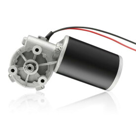 ソウテン 電動ギアボックスモーター 高トルク 減速 可逆 JCF63R DC24V 80W 320RPM