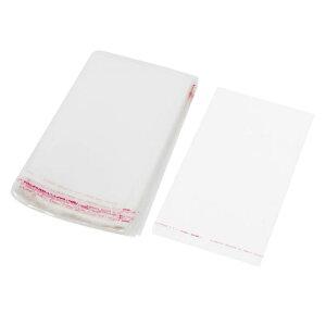 ソウテン uxcell ビニール袋 セルフシール ジップロック 透明バッグ 卸売用 18x12cm 200枚