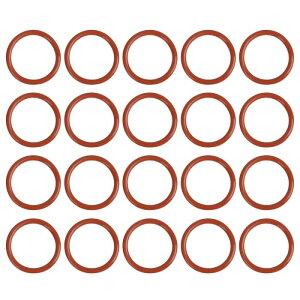 ソウテン Oリングシールガスケット ワッシャー シリコーン製 サイズ36x3.5 mm 20個入